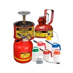 Safety Cans and Oil Safe