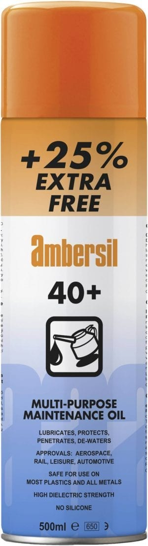 Ambersil 40+ Protective Lubricant