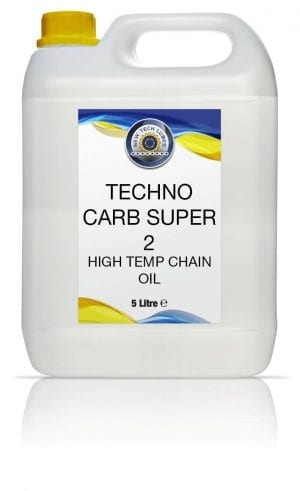 New Tech Lubes Techno Carb Super 2 High Tempertaure Chain Oil -5L - Lubricants SW