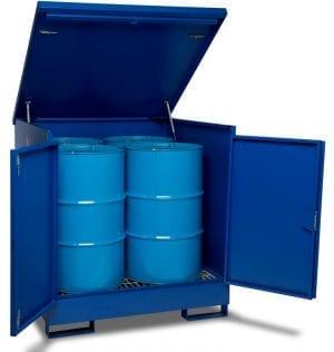 DrumBank Strong Outdoor Drum Storage