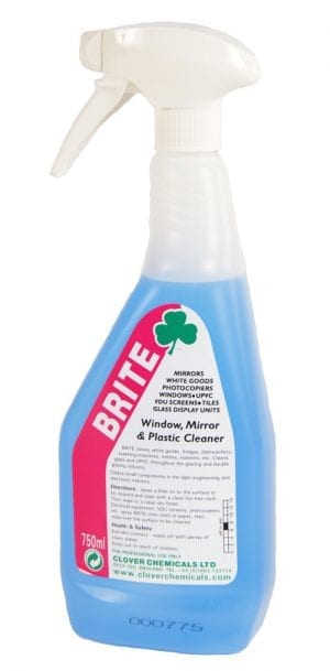 Brite Window, Mirror & Plastic Cleaner