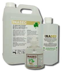 Inasec No-Rinse Skin Cleanser
