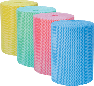 Envirowipe Roll Anti-bacterial Medium-weight Compostable Cleaning Cloths