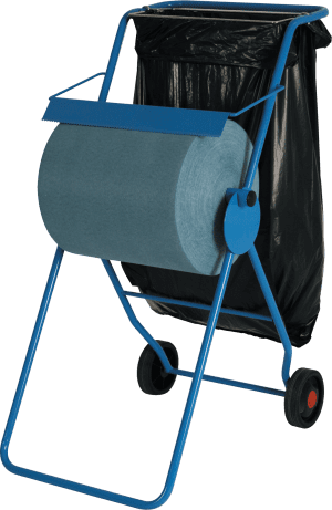 Roll Dispenser Floor Stand & Bagholder