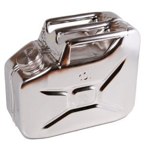 Stainless Steel Fuel Can