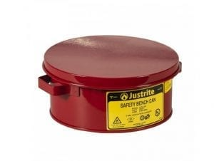 Justrite(R) Bench Cans