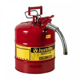 Justrite(R) Steel Type II Safety Cans