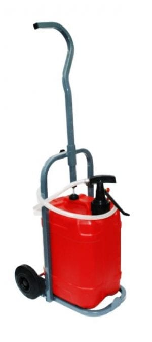 25ltr Drum Trolley and Pump
