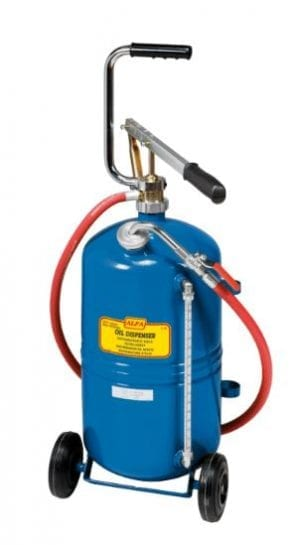 Portable Hand-Operated Oil Dispenser