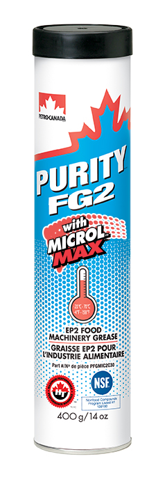 Purity FG2 with Microl Max Grease