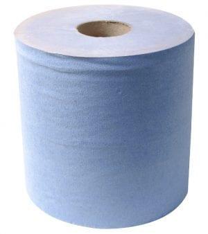 Blue Paper Roll