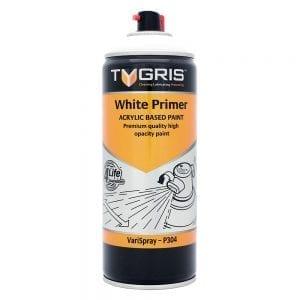 P304 White Primer Vari-Spray Paint