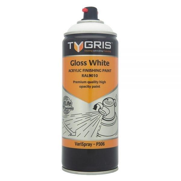 P306 Gloss White Vari-Spray Paint