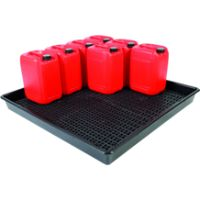 Spill Trays, Drip Trays, Drain Pans & Drum Accessories