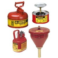 Safety Cans, Oil Cans and Precision Oilers